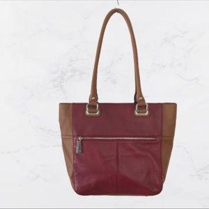 Tignanello Perfect Pockets Leather Medium Tote